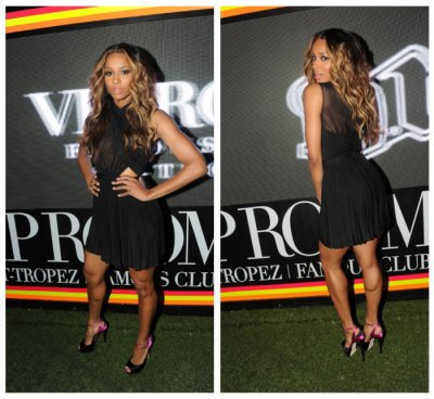 Ciara lors d'une soirée au VIP room (st tropez)