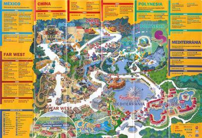 Plan du parc port aventura le todo du 13 - Port aventura plan ...