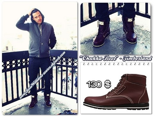 "FLASH PIC : Jesse in ""Chukka Boot"" by Timberland ."
