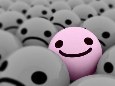 Souris a la vie et la vie te sourira