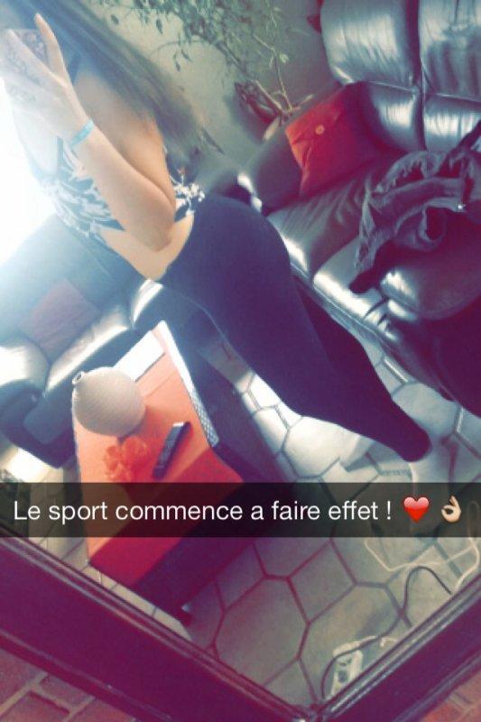 Effet du sport ! ❤️