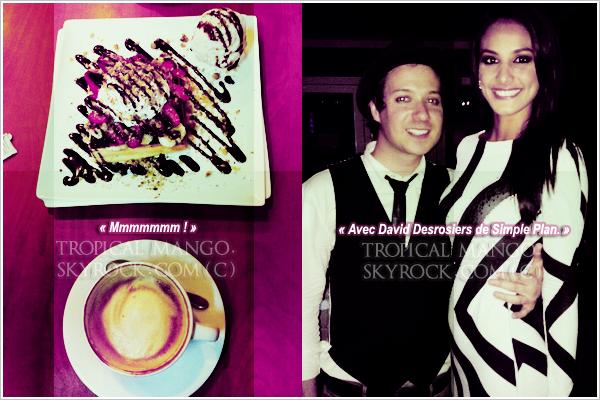 Voici quelques photos twitter récentes de Miss Costa Rica, Alexandra puis Malika ! Les photos d'Alexandra ont été prises lors de son anniversaire & celles de Malika lors de sa visite à Las Vegas pr voir Chloé.