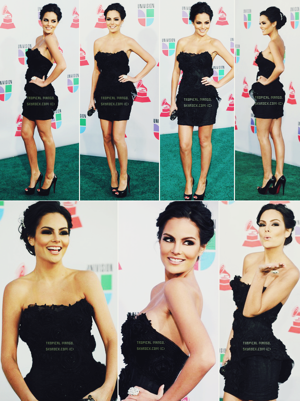 11 NOVEMBRE 2010 : Jimena Navarrete à Las Vegas pour les Latin Grammy Awards. Dans une semaine environ le voyage de préparation au concours Miss Univers au Brésil commence, il y aura plein de news ! :)