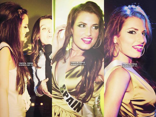 Rattrapage de news : Voici un nouvel article sur le voyage de préparation à Miss Univers 2011.