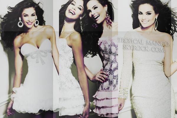 02/11/11 : Nvelles photos de Miss Univers 2008 et Miss Univers 2010 pour Sheri Hill. Jimena est juste à couper le souffle, elle est la plus belle Miss Univers pour moi ! Sinon je trouve les que robes sont très belles