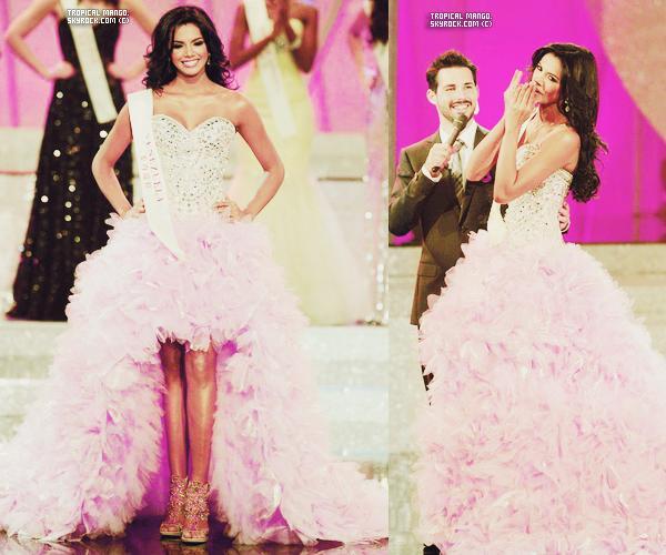 Voici le Top 7 pour le titre de Miss Monde 2011, Vénézuela était vraiment magnifique ! Personnellement, je trouve que c'est vraiment Ivian Sarcos la plus belle et qu'elle méritait de gagner ! Sinon je suis vraiment déçue pour la 1ère dauphine : Miss Philippines, j'ai vraiment pas compris sa place. Par contre j'adore Porto Rico et Angleterre. Vos avis sur ce top 7 ? Ne vous demandez pas pourquoi tout est écrit en français à part South Africa, j'avais pas de place sur le montage pour Afrique du Sud.
