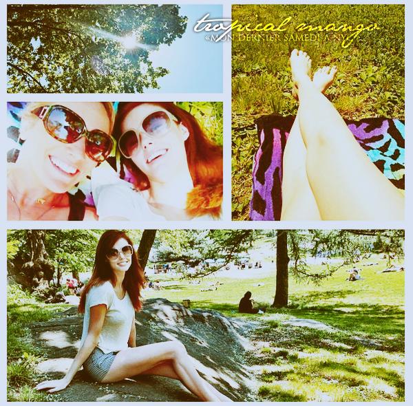 15/05/2012 - Plusieurs photos récentes d'Alyssa Campanella postées via instagram.On me fait souvent la remarque comme quoi elle poste pas mal de photos où elle mange, en fait elle est passionnée de cuisine :)