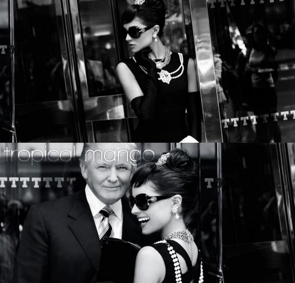 24/06/12 : RATTRAPAGE DE NEWS : NOUVEAU SHOOT POUR OLIVIA CULPO, MISS USA.Elle s'est glissée, sous l'objectif de Fadil Berisha dans la peau de son idole, Audrey Hepburn dans le film Breakfast at Tiffany's.