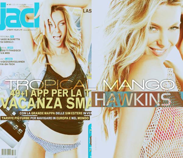 16/07/2012 - MISS UNIVERS 2004 JENNIFER HAWKINS POUR UN MAGAZINE. Elle pose pour le magazine italien Jack. Ca fait plaisir d'avoir enfin des News de Jennifer qui se font rares ces derniers temps.
