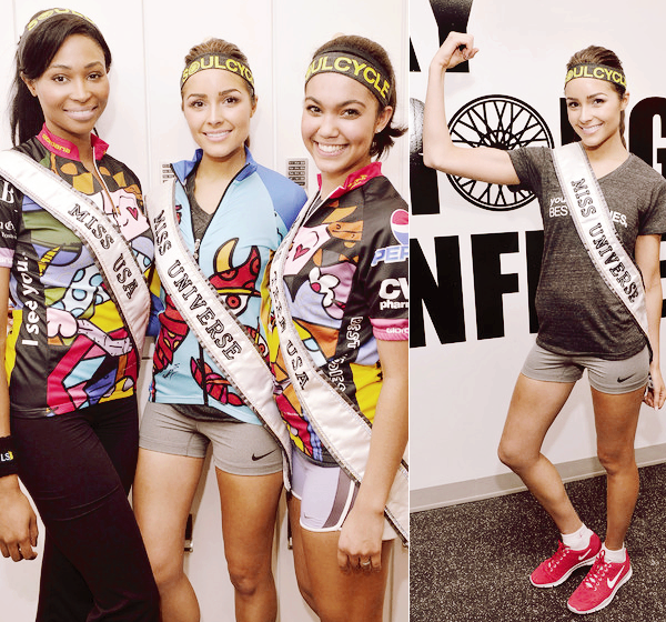 ◆ MISS UNIVERS, MISS USA ET MISS TEEN POUR L'EVENEMENT RIDE WITH SOUL. ◆