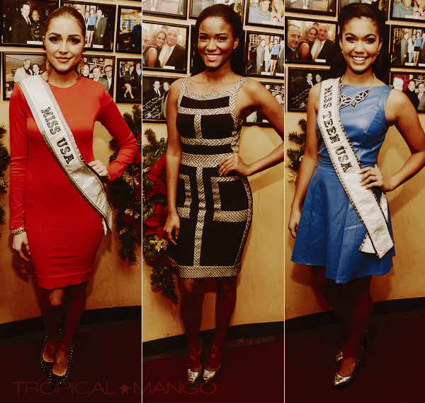 ◆ MISS USA, MISS TEEN USA ET MISS UNIVERS ETAIENT REUNIES A NEW YORK. ◆