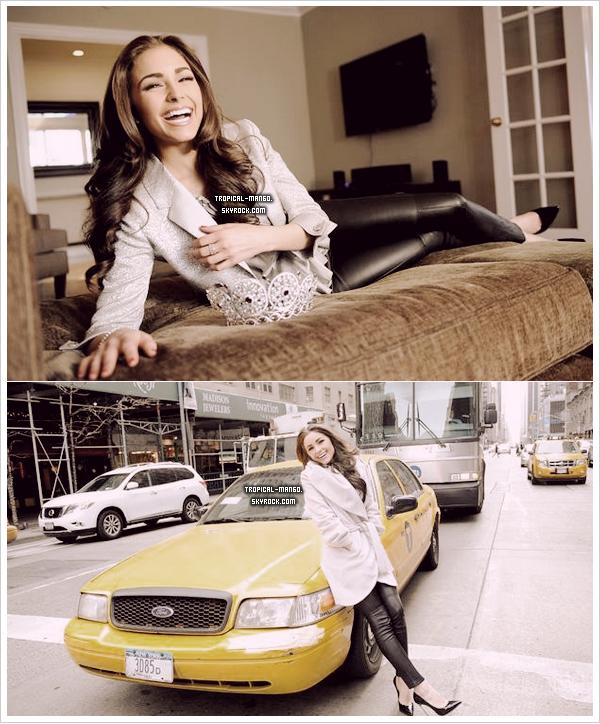 ◆ DE NOUVELLES PHOTOS DE MISS UNIVERS, OLIVIA CULPO A NEW YORK. ◆