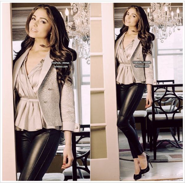 ◆ DE NOUVELLES PHOTOS DE MISS UNIVERS, OLIVIA CULPO A NEW YORK. ◆