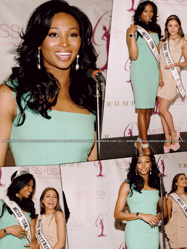 ◆ LES PHOTOS DU COURONNEMENT DE LA NOUVELLE MISS USA NANA MERIWETHER. ◆