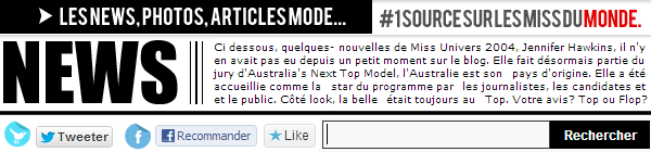 ◆ MISS UNIVERS 2004 LORS DES CASTINGS POUR AUSTRALIA'S NEXT TOP MODEL. ◆