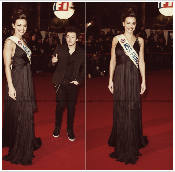 ◆ MISS FRANCE MARINE LORPHELIN LORS DES NRJ MUSIC AWARDS 2013. ◆
