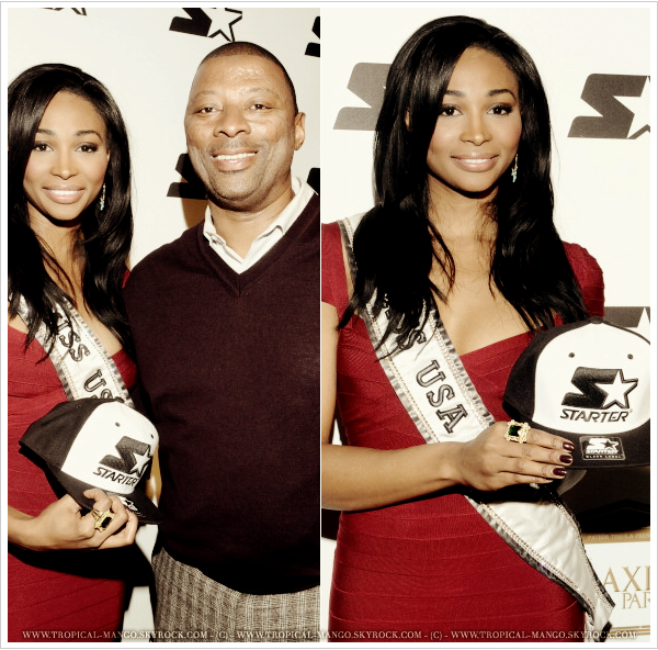 ◆ MISS USA ETAIT HIER SOIR EN LOUISIANE A L'OCCASION DU SUPERBOWL. ◆