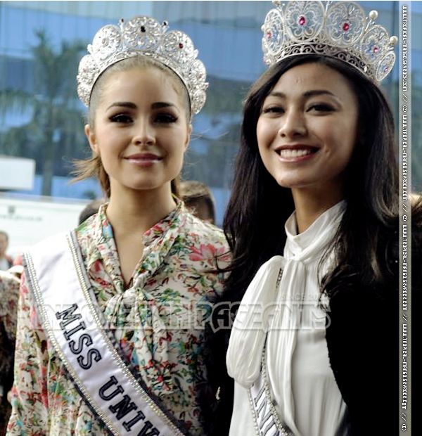 DECOUVREZ PLEIN DE PHOTOS DE MISS UNIVERS EN INDONESIE.