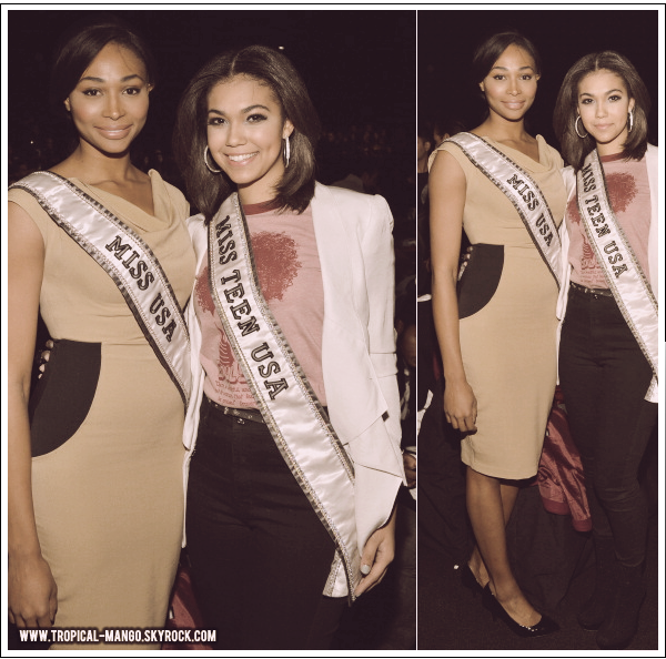 ◆ MISS USA, NANA MERIWETHER EN PLEIN MARATHON MEDIATIQUE. ◆