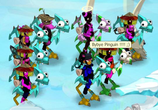 La fin du pinguin !