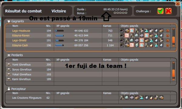 La team avance un peu comme un TGV, mais en pas pareille m'voyez le genre?