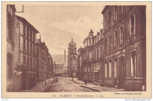 anciennne photo de ma rue