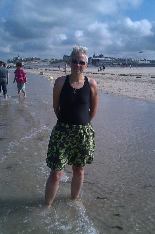 moi a la playa de berck super journée