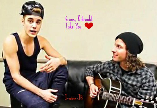 Justin Bieber.♥  Acoustic As Long As You Love Me, and Take You 6 years Kidrauhl..♥