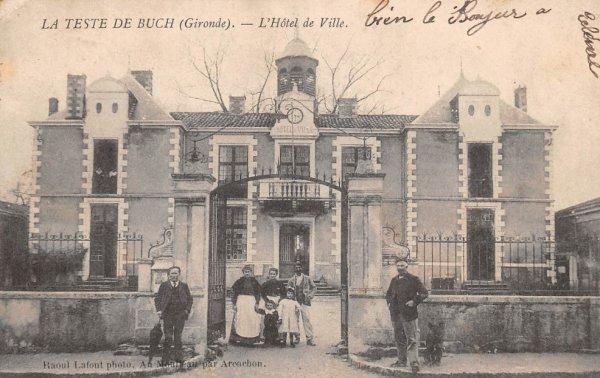 Mairie de La Teste de Buch, celle d'hier et celle d'aujourd'hui