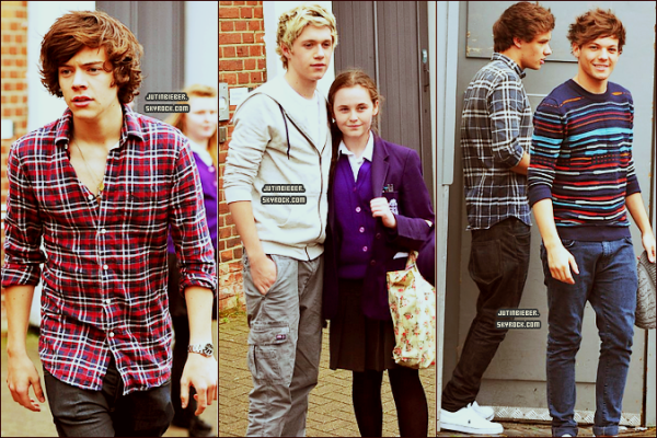 * 09/05/12 :  Les garçons étaient à Londres. Ton avis ?   *