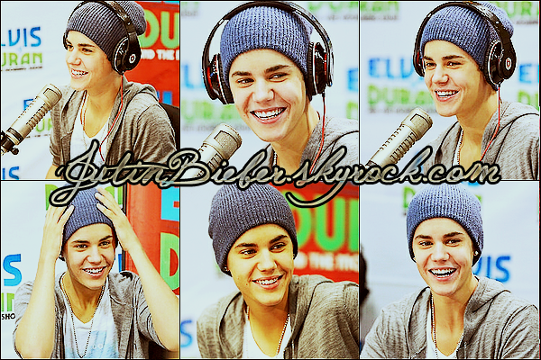 * 20/06/12 :  Justin devant les studios de 106 & Park à New York.    *