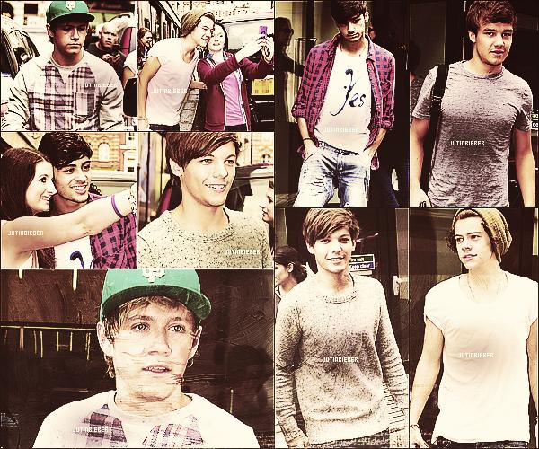 * 16/07/12 :  Liam et Danielle ont été vu à l'aéroport d'Heathrow à Londres.    *