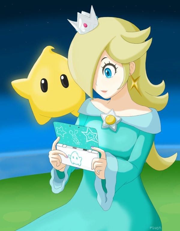 Quand je joue sur ma 3DS XL à mon effigie. :)