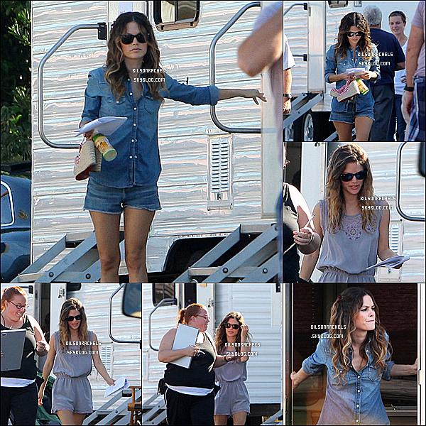 """04/11/10 : Rachel a été vu sur le plateau de son nouveau film """" Bff & girls """"   !   Top ou Flop?"""