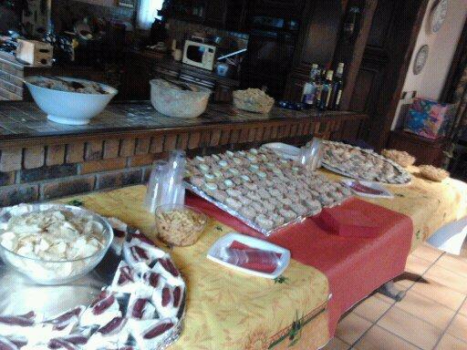 buffet froid organiser à domicile