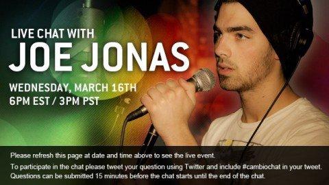 15 mars 2011: Photoshoot de Joe qui fera la couverture de DETAILS.16 mars 2011: LiveChat de Joe