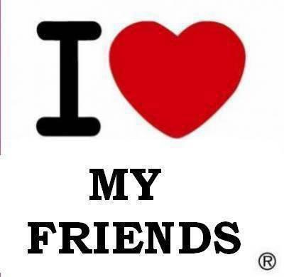 un coeur pour vous mes amis