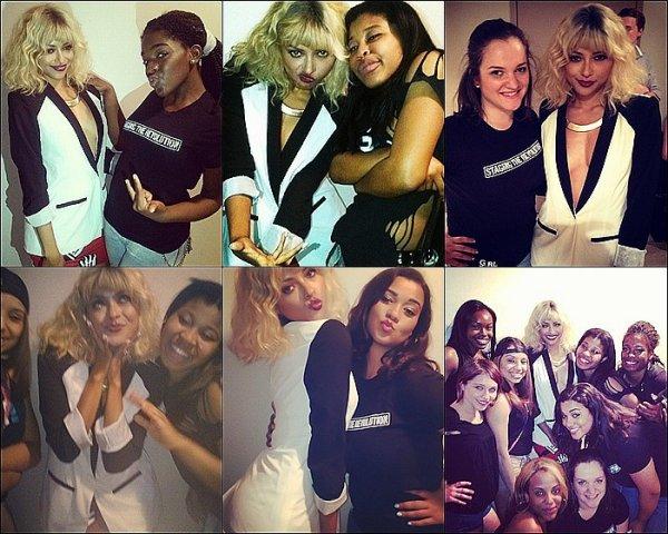 Le 02 Juin 2013: au 9mm America pour soutenir les filles de girlbeheard.org.