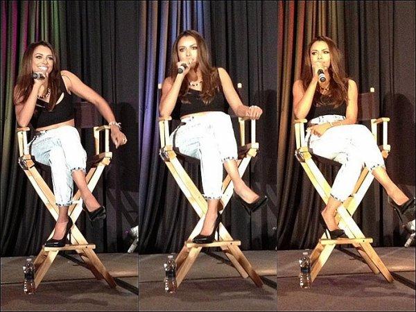 Le 14 Juillet 2013: Creation Entertainment Convention, New Jersey.