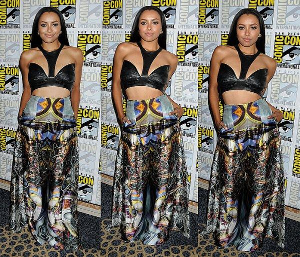 Le 20 Juillet 2013: au Comic-Con de San Diego.