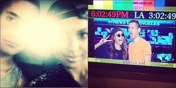 Le 27 Juillet 2013: au concert de Bruno Mars & Ellie Goulding Concert.