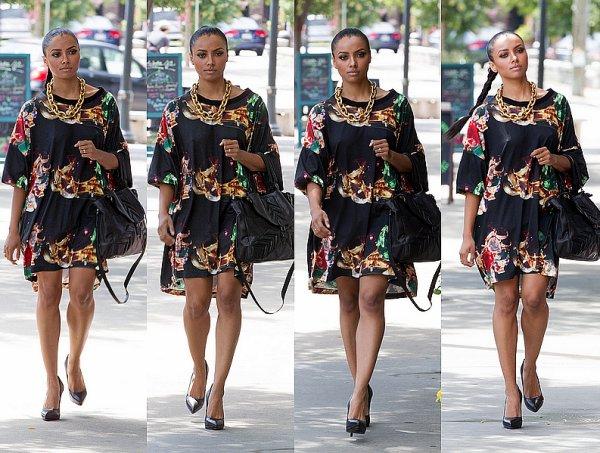 Le 30 Juillet 2013: se promenant dans les rues d'Atlanta.