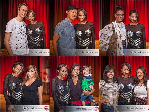 Le 14 Septembre 2013: Meet & Greet au House Of Blues, à Las Vegas.