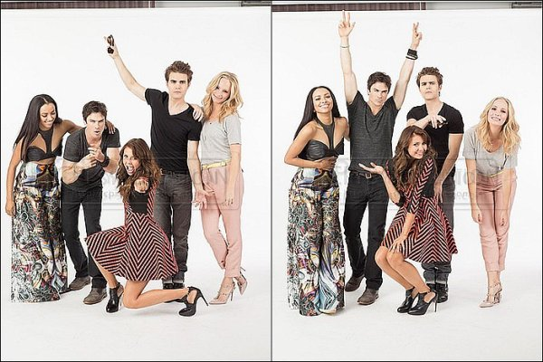 Photoshoot réalisé pour Entertainment Weekly durant le Comic-Con.