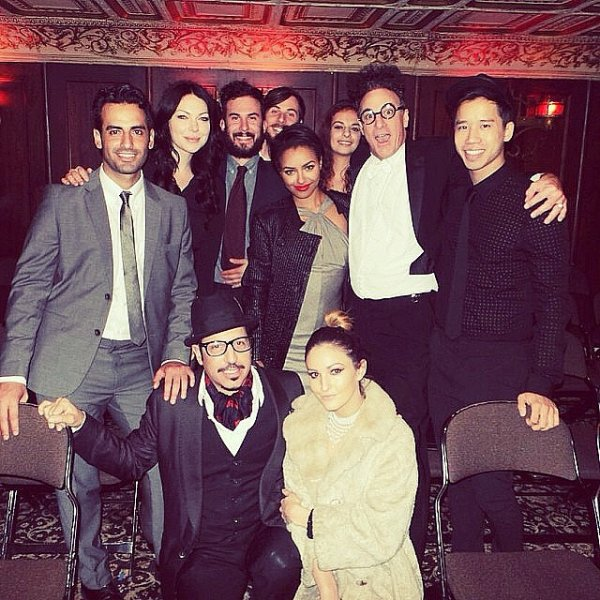 Le 07 Décembre 2013: à la fête d'anniversaire de son amie Ashley Madekwe au Magic Castle.