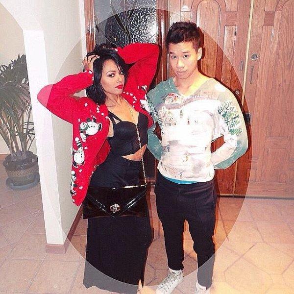 Le 14 Décembre 2013: Chez son ami Jared Eng pour faire une fête avant Noël.