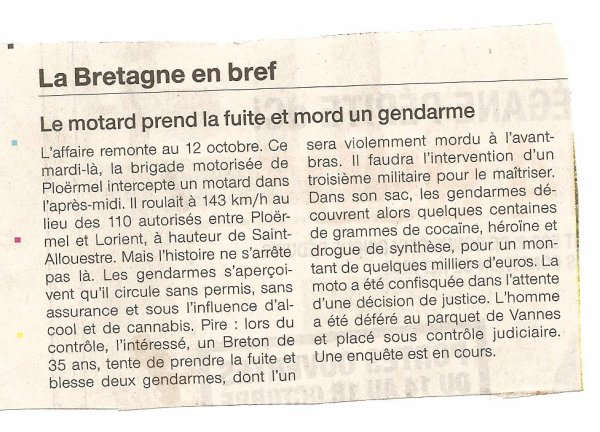 LA GROSSE FAIM DU MOTARD !!!