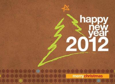BONNE ANNEE & Happy NEW YEAR 2012