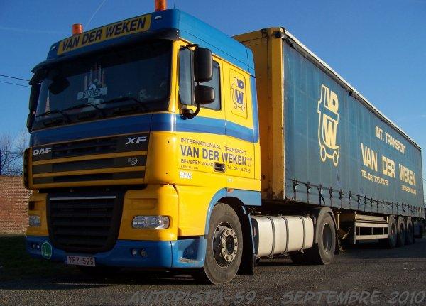 Daf xF 410 Space Cab - Van der Weken