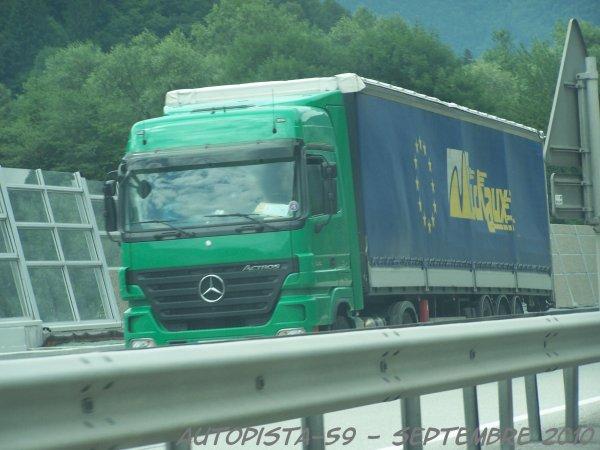 Mercedes Actros Megaspace - Transports Michaux